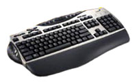 Genius Comfy KB-21e Scroll Silver PS/2