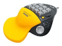 GeniusErgoMedia 500 Yellow-Black USB+PS/2