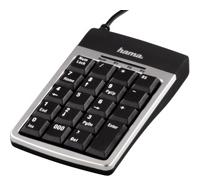 HAMASlimline Keypad SK210 Silver-Black USB