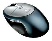 LogitechCordless Click! Plus Optical Mouse Metallic