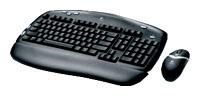 LogitechCordless Desktop EX 100 Black USB+PS/2