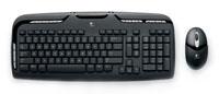 LogitechCordless Desktop EX 110 Black USB+PS/2