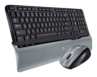 LogitechCordless Desktop S520 Black USB