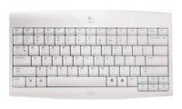 Logitech Cordless Keyboard for Wii White USB