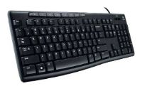 Logitech Keyboard K200 for Business Black USB