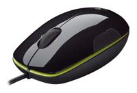 LogitechLS1 Laser Mouse Black-Green USB
