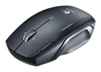 LogitechNX80 Cordless Laser Mouse for Notebooks