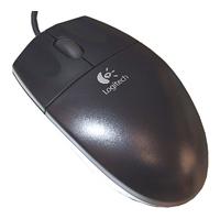 LogitechOptical Mouse SBF-90 Black PS/2