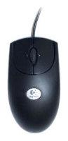 LogitechRX250 Optical Mouse Black USB+PS/2
