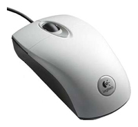 Logitech RX300 Optical Mouse 3D White USB+PS/2
