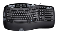 Logitech Wave Keyboard Black USB