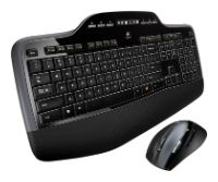 LogitechWireless Desktop MK700 Black USB