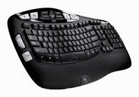 LogitechWireless Keyboard K350 Black USB