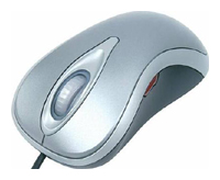 MicrosoftComfort Mouse 3000 Silver USB+PS/2