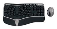 MicrosoftNatural Wireless Ergonomic Desktop 7000 Black-Grey
