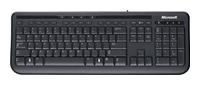 MicrosoftWired Keyboard 600 Black USB