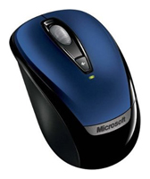 Microsoft Wireless Mobile Mouse 3000 Blue USB