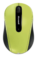 Microsoft Wireless Mobile Mouse 4000 Green USB