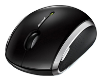 Microsoft Wireless Mobile Mouse 6000 Black USB