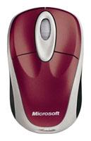 MicrosoftWireless Notebook Mouse 3000 Pomegranate USB