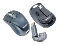 MicrosoftWireless Notebook Optical Mouse Slate USB