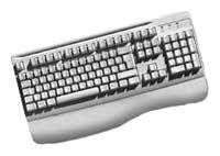 MitsumiKeyboard Ergonomic White PS/2