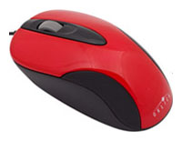 Oklick151 M Optical Mouse Red PS/2