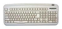 Oklick300 M Office Keyboard Silver PS/2