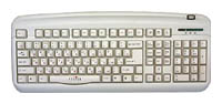 Oklick300 M Office Keyboard White USB+PS/2