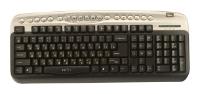 Oklick330 M Multimedia Keyboard Silver USB+PS/2