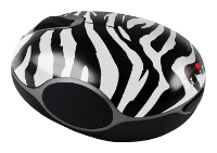 Oklick 535 XSW Optical Mouse Zebra Black-White