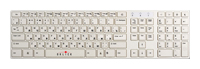Oklick 555 S Multimedia Keyboard White USB