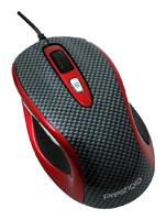 PrestigioL size mouse PJ-MSO3 Carbon-Red USB