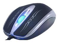 RevoltecLightMouse Precision Black-Silver USB+PS/2