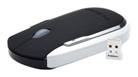 SamsungMOC-315B Wireless Optical Mouse Black-White USB