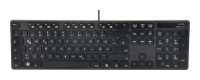 Speed-LinkVERDANA Multimedia Keyboard SL-6455-SBK Black USB