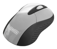 SweexMI421 Wireless Mouse Rambutan Silver USB