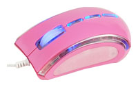 T'nBGUPPY CORAL mouse Pink USB