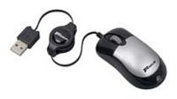 TargusMini Optical Retractable Mouse PAUM009E Black-Silver