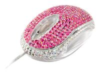 TrustBling-Bling Mouse Pink USB