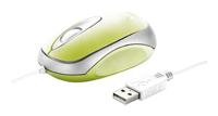 TrustCenta Mini Mouse Lime USB