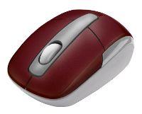 TrustEqido Wireless Mini Mouse Red USB