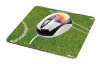 TrustFootball Mouse with Mousepad Deutschland USB