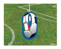 TrustFootball Mouse with Mousepad Italia USB