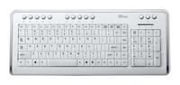 TrustIlluminated Keyboard KB-1500 RU White USB