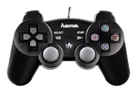 HAMABlack Force Gamepad for PS3