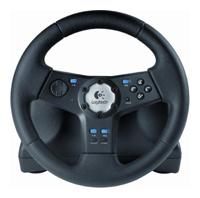 LogitechRally Vibration Feedback Wheel PS2