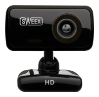 SweexHD Webcam Blackberry Black USB