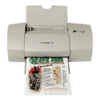 Lexmark Color Jetprinter Z32
